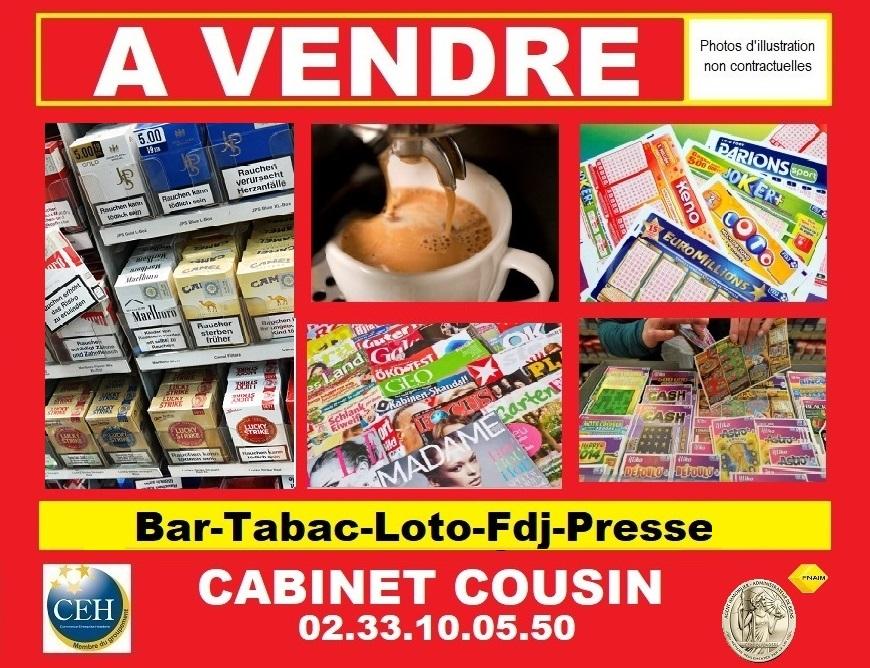 Annonce Bar Tabac Loto Presse Manche 1261d Cabinet